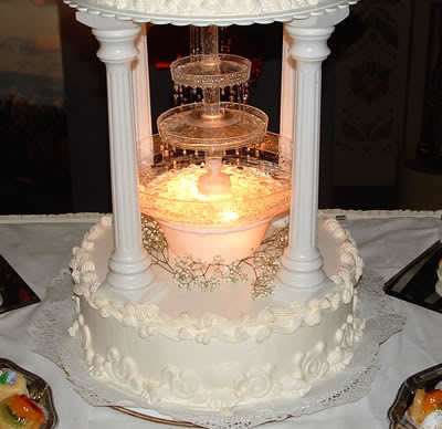 This is one wedding cakes design the best and most beautiful