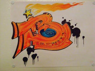 graffiti letters,graffiti letter B