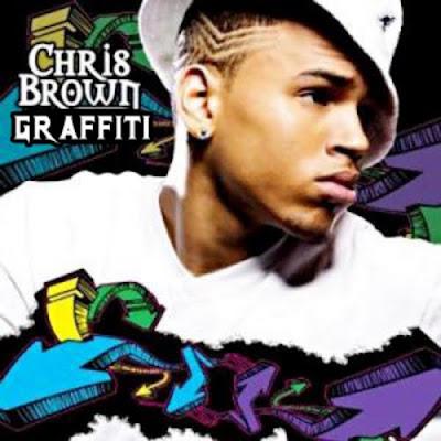 chris brown name in graffiti
