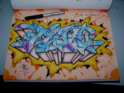 Graffiti Letters,Graffiti Sketch