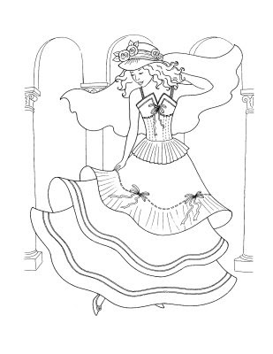 Disney Princess Coloring Pages, Disney Coloring Pages,