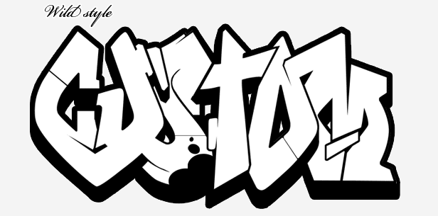 2 Sketch Graffiti Wildstyle And Simple Design