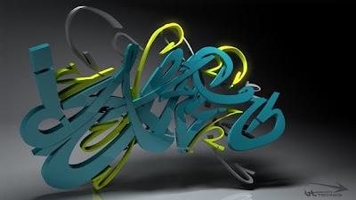 3D Graffiti, Graffiti Letters