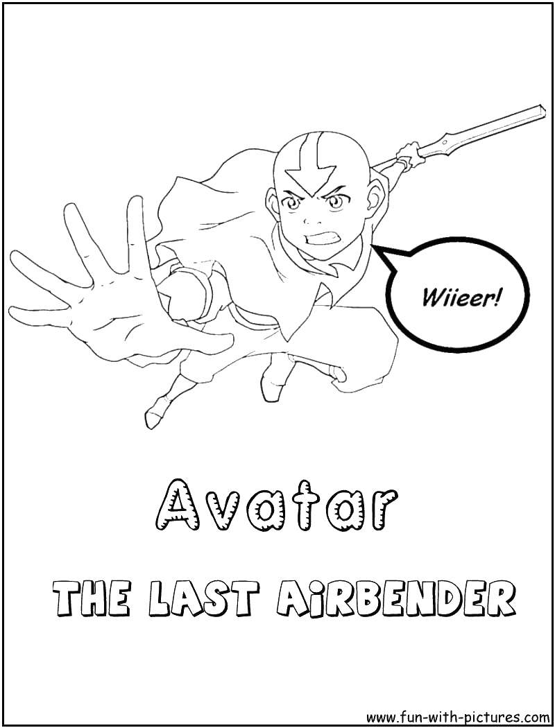 Free Avatar Sokka Coloring Pages Avatar Last Airbender Coloring Pages