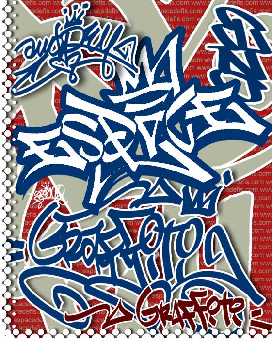 2011 3d graffiti alphabet