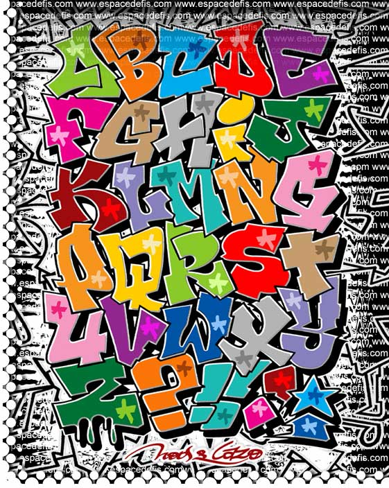Graffiti Alphabet Blackbook