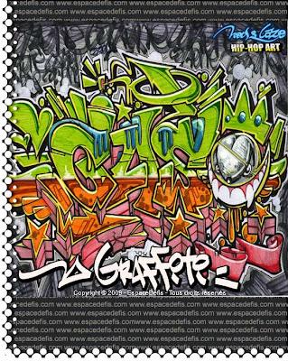 Graffiti Alphabet, Graffiti Letters