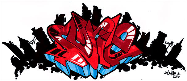 3d graffiti wildstyle. Colorful Wildstyle Graffiti Collection with 3D Effect