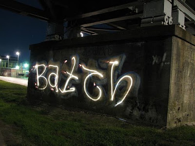Light Graffiti, Graffiti Letters