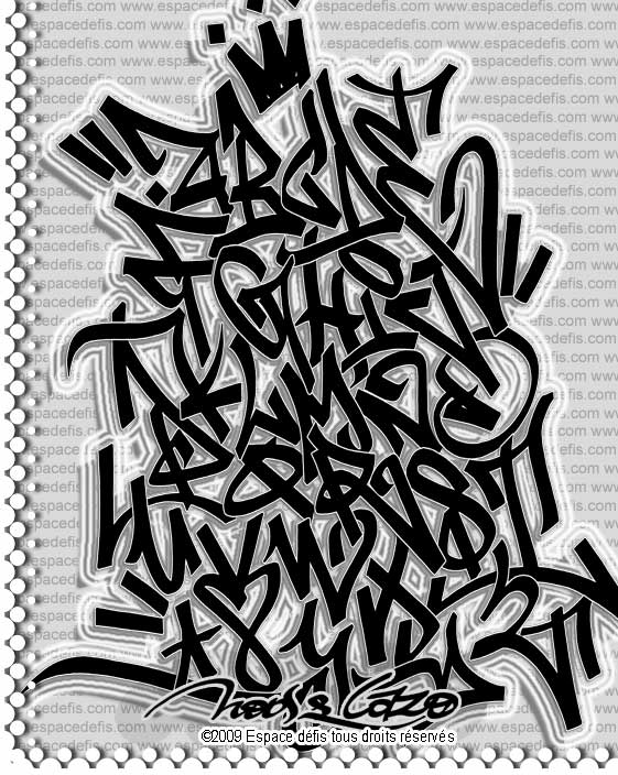 Graffiti Pics And Fonts: Tag Graffiti Alphabet BlackBooks by Noose ...