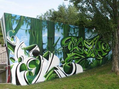 Wildstyle Graffiti, Graffiti Murals
