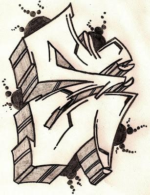 Graffiti Letters,Graffiti Letters Alphabet