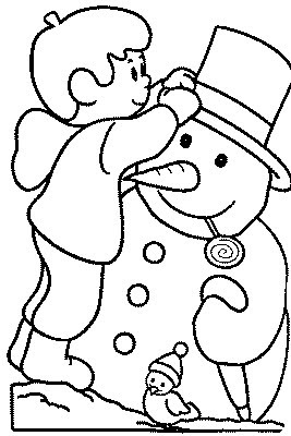 Transmissionpress Frosty The Snow Man Kids Coloring Pages