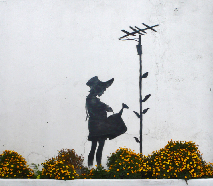 banksy graffiti. anksy graffiti artwork