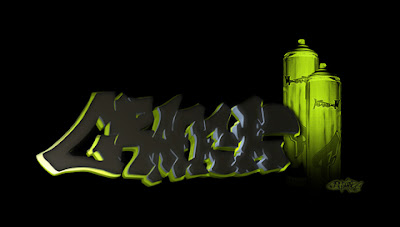 Graffiti Wallpapers, Graffiti 3D