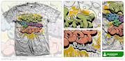 TShirt Graffiti Bubble Letters by Bakeroner
