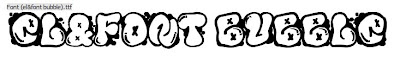 Graffiti Fonts,Graffiti Bubble