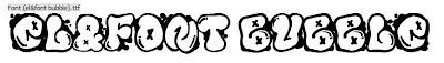Graffiti Fonts,Graffiti Bubble