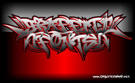 Graffiti walls wild style free graffiti fonts family for street