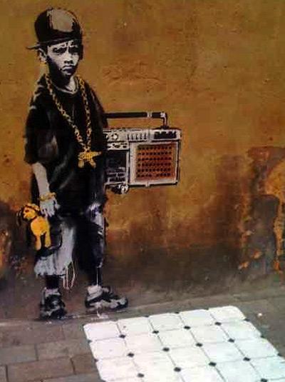 graffiti artist banksy. Banksy Graffiti Artist