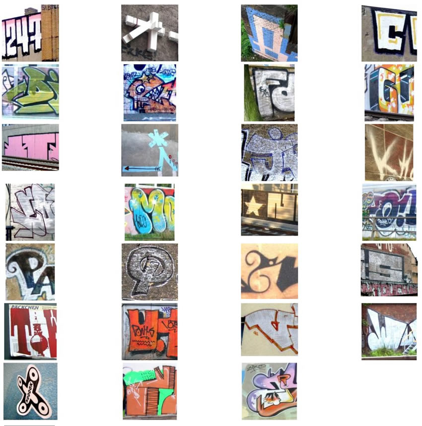 Graffiti Alphabet : Uberdose.de BERLIN - ABC