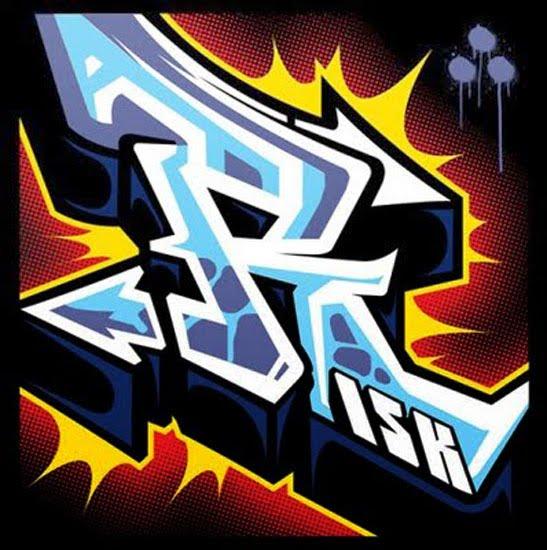 R Graffiti Letters graffiti design: The L...