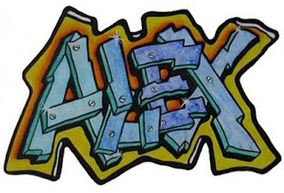 How to Draw Graffiti Names on Your Name? / Graffiti Alphabet