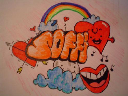 Corazones Graffiti Graffiti Love