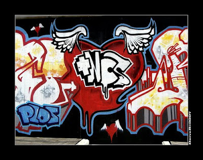 Graffiti Love, Graffiti de Amor,Corazones Graffiti