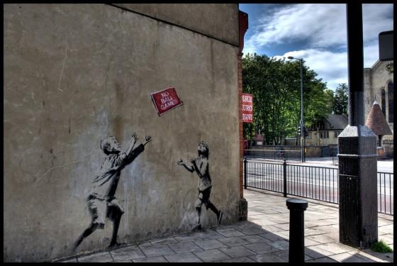 Graffiti walls political art of banksy graffiti london uk