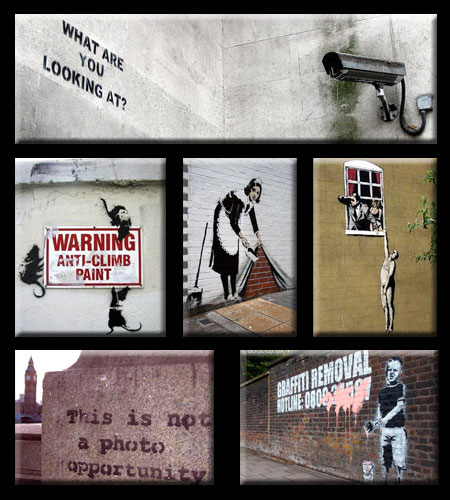 banksy rat stencil. Banksy Graffiti Stencils