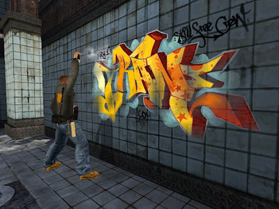 graffiti game ,Mark Ecko, Graffiti Mark Ecko