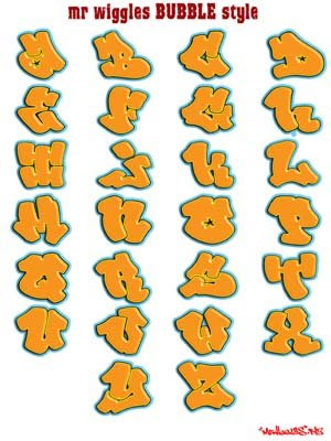 graffiti art letters. graffiti art letters.