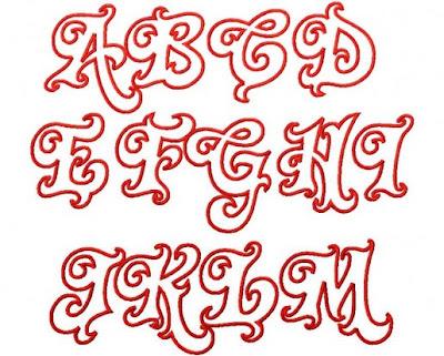 Z Alphabet Letter Graffiti Alphabet : Letter A to Z - Twirly Whirly Applique    Graffiti ...