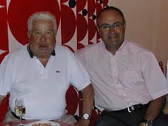Con mi amigo Paco Luna
