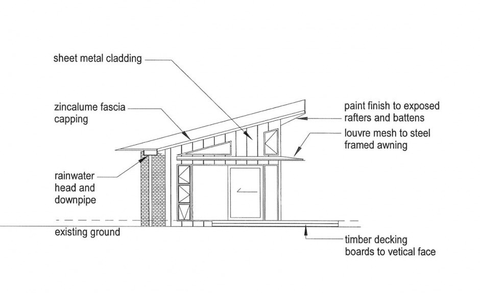 elevation 02 drawing courtesy of breathe architects - Slab Home Designs