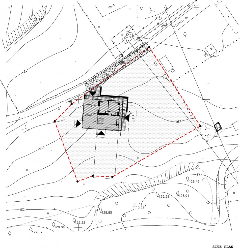 Architectural Site Plan Drawing Site Plan Drawing Courtesy of