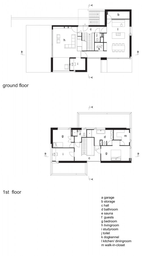Lovely Ground U0026 First Floor Plan  Drawing Courtesy Of Zecc Architects