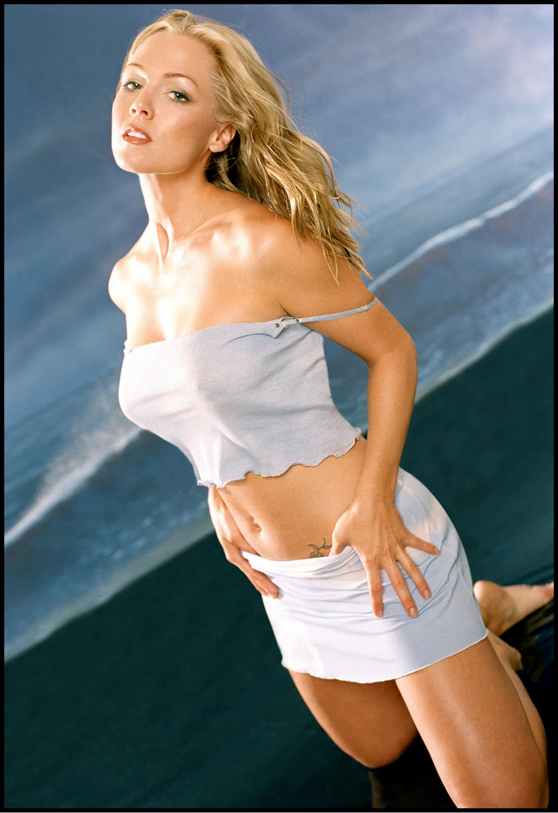 For Jennie garth real naked consider, that