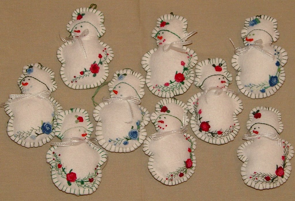 I have made a few others since this tutorial for Christmas crafts to make