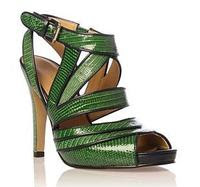 Buy Green Sandals at Shoes By Color - shoesbycolor.com: Top Brand