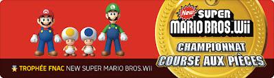 Trophée Fnac New Super Mario Bros Wii