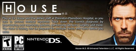 Dr House, le jeu vidéo