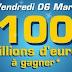 Euromillions : 100 millions à gagner !