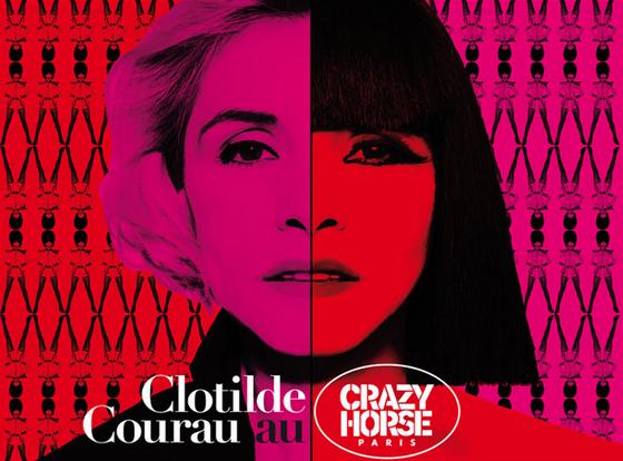 Clotilde Courau au Crazy Horse