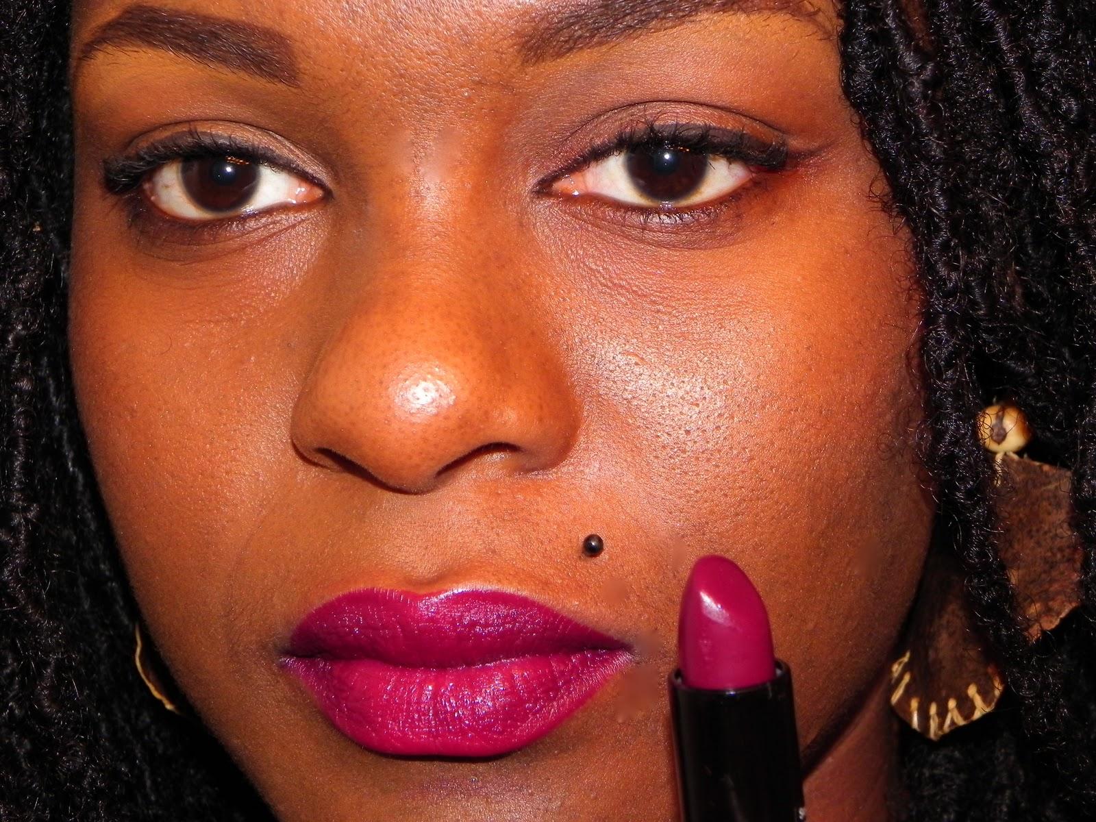 Mac Lipstick On Dark S...