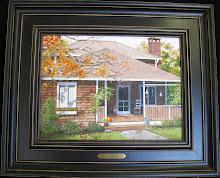 Autumn on the Vineyard  12x16 $400