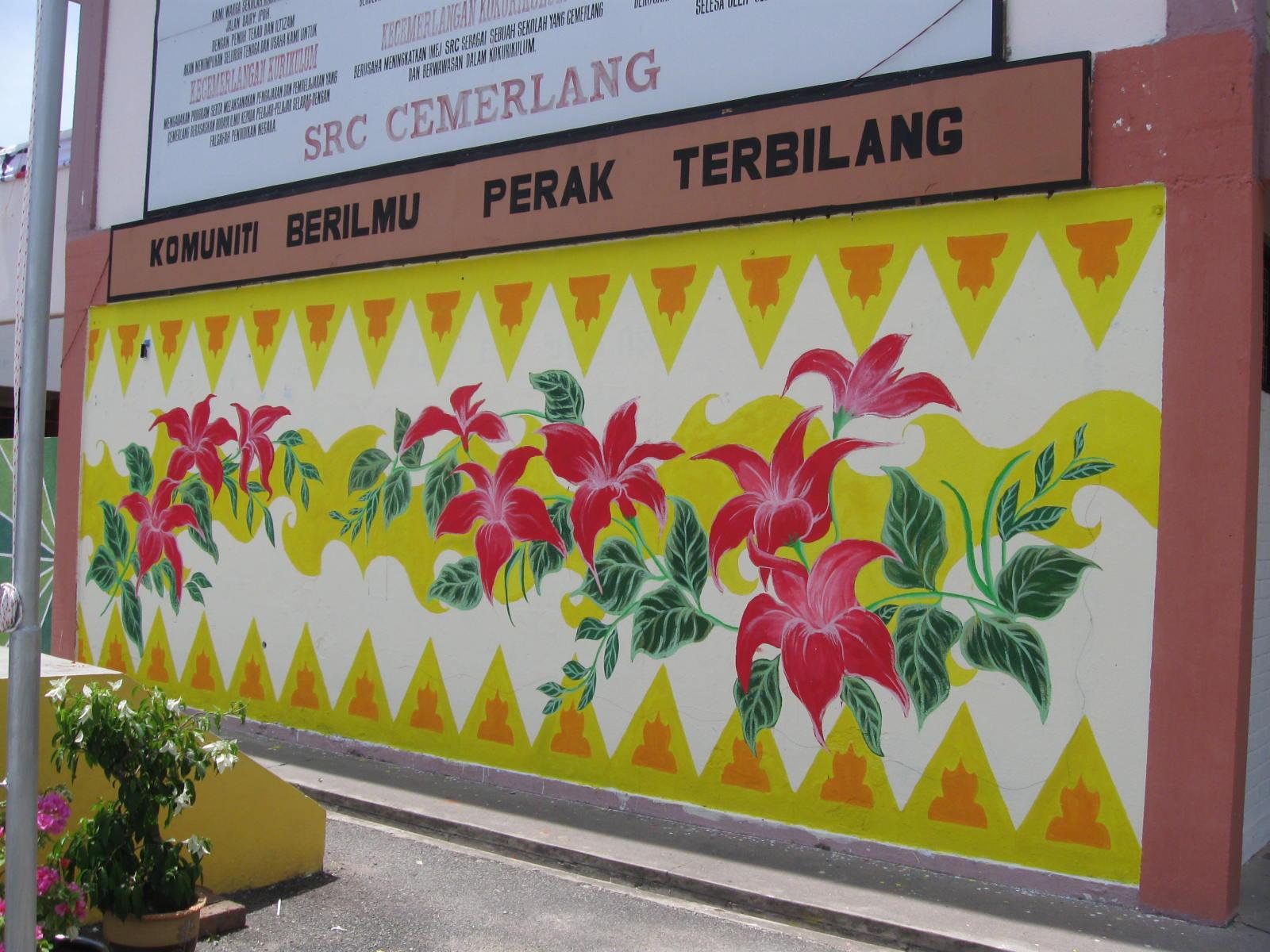 Secubit rasa semanis kenangan buat mural baru for Mural yang cantik
