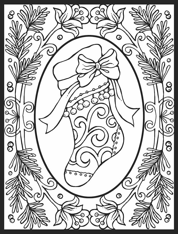 so close, but here is your stocking to color and leave by the cookies title=