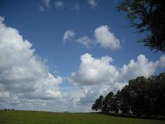 O céu aqui é muito mais bonito